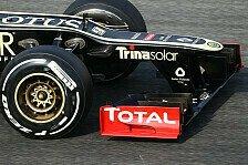 Formel 1 - Einschr�nkung f�r Doppel DRS: Teams d�rfen Stufennasen 2013 verstecken