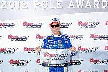 NASCAR - Champion Tony Stewart startet aus der ersten Reihe : Phoenix-Pole f�r Oldtimer Mark Martin