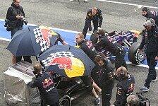 Formel 1 - Nicht hinsehen - geheim! : Blog - Red Bull setzt auf Regenschirm-Trick