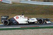 Formel 1 - Kobayashi ohne Grip: Getriebedefekt bei Perez