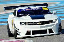 ADAC GT Masters - Test bei den GT Open: Erster Einsatz des Camaro GT