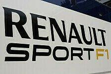 Formel 1 - Denselben oder noch gr��eren Erfolg: Renault will in der F1 Erfolgskurs fortsetzen