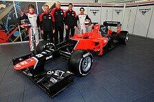 Formel 1 - Neues Auto mit neuer Philosophie: Marussia zeigt den MR01