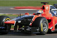 Formel 1 - Bilder: Test-Highlights: Marussia