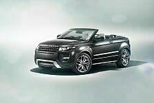 Auto - Neues Konzeptmodell der britischen Marke: Deb�t der Cabrio-Studie des Range Rover Evoque