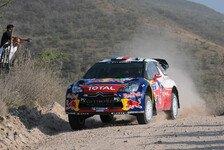 WRC - Hoffen auf das vertraute Gef�hl: Loeb: Ford sieht schnell aus in Mexiko