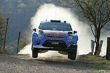 WRC - Fahrbar, aber nicht perfekt: �stberg trotz Rang drei nicht zufrieden