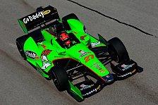IndyCar - Zeiten purzeln weiter: Andretti nimmt das Heft in die Hand