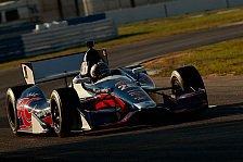 IndyCar - Dixon im DW12 ganz vorne: Barrichello in Sebring auf Anhieb Dritter