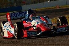IndyCar - Rubens Barrichello starker Vierter: Testfahrten: Scott Dixon behauptet die Spitze