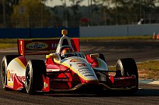 IndyCar - Power & Franchitti straucheln: Castroneves holt Pole in Barber