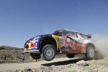 WRC - Latvala k�mpft sich zur�ck: Mexiko: Loeb baut seine F�hrung weiter aus