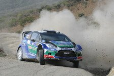 WRC - Endlich schneller als Citroen: Ford: Hoffnung trotz Hirvonen-Desaster