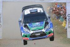 WRC - Angst vor Regen: Portugal: Solberg gewinnt erste Pr�fung