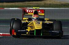GP2 - Sehr zufrieden mit meinem ersten GP2-Rennen : Felipe Nasr