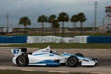 IndyCar - Alesi beim Testdeb�t Vorletzter: Rookie Newgarden toppt Indy-Training