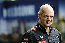 Formel 1 - Bin ein ganz guter K�nstler: Interview - Adrien Newey