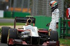 Formel 1 - Wenn technische Gebrechen zum Alltag werden: HRT - Eine Gef�hrdung f�r die Formel 1?