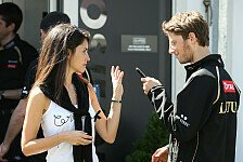 Formel 1 - Ehefrau Marion Jolles schwanger: Romain Grosjean wird Vater