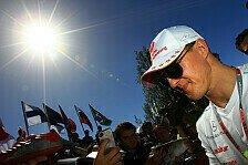 Formel 1 - Alle f�r einen: Blog - Die ganze Welt bangt um Schumacher