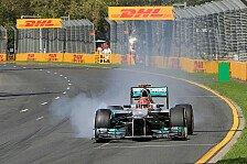 Formel 1 - Technischer K.o. in Runde 12: Schumacher wundert sich �ber Getriebeschaden