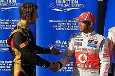 Formel 1 - Ger�chte �ber anstehende Gespr�che: Hamilton pl�tzlich Lotus-Kandidat?