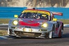 USCC - Traumkulisse mit Stars und Sternchen: Vier Porsche 911 GT3 RSR in Long Beach dabei