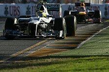 Formel 1 - Qualifying nicht das Problem: Rosberg: Von der Rennpace entt�uscht