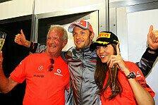 Formel 1 - Der perfekte Ort f�r Rennfahrer: Button: Sepang ist entspannter als Melbourne