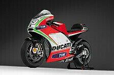 MotoGP - Der Zylinderwinkel blieb bei 90 Grad: Preziosi: Ducati-Motor hat volle 1000cc