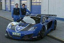 ADAC GT Masters - Erste Testl�ufe mit dem McLaren MP4-12C GT3: Bew�hrungsprobe f�r Gemballa-Team