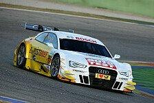 DTM - Eine echte Standortbestimmung: Audi A5 DTM vor seiner Rennpremiere