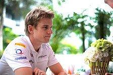 Formel 1 - Das war ganz klar mein Fehler: Aprilscherz: H�lkenberg nicht in China am Start