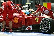Formel 1 - Chassis & Auspuff: Ferrari: Neues Auto in Bahrain