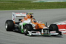 Formel 1 - M�ssen China & Bahrain �berstehen: Force India: Updates f�r Mugello-Test geplant