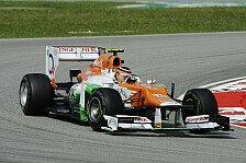 Formel 1 - M�ssen China & Bahrain �berstehen: Force India: Updates f�r Mugello-Test geplant