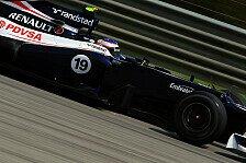 Formel 1 - Trainingseinsatz steht fest: Bottas auch im Regen f�r Senna