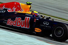 Formel 1 - Qualifying-Dominanz beendet: RBR-Problem: RB8 reagiert sehr diffizil