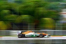 Formel 1 - Wir sind in guter Form: Di Resta: Probleme im dritten Sektor