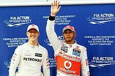 Formel-1-Rekorde: Michael Schumacher vs. Lewis Hamilton
