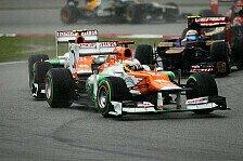 Formel 1 - K�nnen sehr zufrieden abreisen: Di Resta: Wir hatten auch Gl�ck