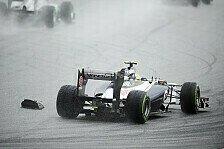 Formel 1 - Sehr gl�cklich �ber Platz sechs: Bruno Senna