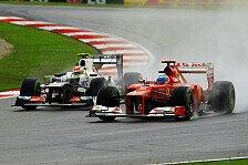 Formel 1 - Zuletzt hinter Lotus & Sauber: Alonso erkl�rt Ferraris Aufholbedarf