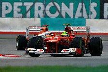 Formel 1 - Mit zwei Familien nach China: Massa machte �berstunden