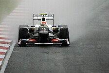 Formel 1 - Die Regenzeit half: Perez lernte das Regenfahren sehr fr�h