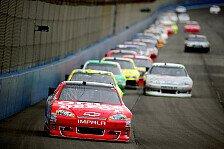 NASCAR - Denny Hamlin verschenkt m�glichen Sieg: Tony Stewart gewinnt verk�rztes Fontana-Rennen