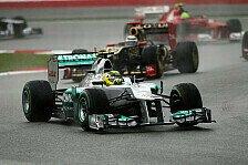 Formel 1 - Alles nur Luft?: Lotus reicht Protest gegen Mercedes ein