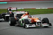 Formel 1 - Force India: Angriff auf Williams und Sauber