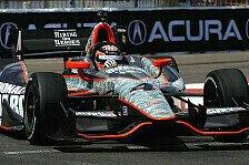 IndyCar - F�r den Rest der Saison mit Chevrolet: Motoren: DRR & Panther fusionieren