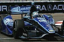 IndyCar - Sarah Fishers Truppe weiter auf dem Vormarsch: Saavedra kann Newgarden nur kurz stoppen